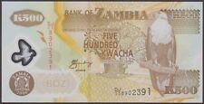 TWN - ZAMBIA 43e - 500 K. 2006 UNC Polymer - Pr. DJ/03
