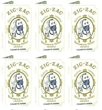 6x Zig Zag Original White Rolling Papers 6 Packs! Great Price! USA Shipped