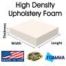 "FOAMMA Upholstery Foam Cushion Seat Replacement Sheet Foam Padding 2""X24""X72"""