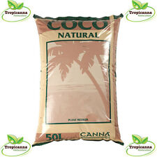 Canna Coco Natural 50L Bag Hydroponic Coir Growing Media