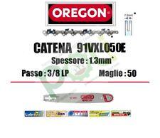 CATENA MOTOSEGA OREGON 91VXL050E PASSO 3/8 LP x SPESSORE 1,3 mm  50 MAGLIE
