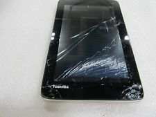 Toshiba Excite 7c 8GB Wi-Fi Android Tablet Model: AT7-B8  cracked screen (33021)