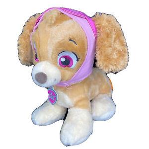 Paw Patrol Dog Skye Build A Bear BAB 2016 Plush With Goggles Hat & Collar EUC