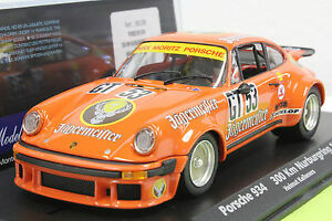 FLY 88288 PORSCHE 934 JAGERMEISTER NEW 1/32 SLOT CAR IN DISPLAY CASE FAT TIRES
