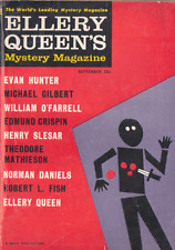 Ellery Queen's Mystery Mag Sept 1960 - Evan Hunter, Michael Gilbert