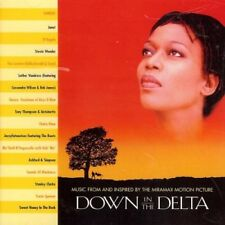 V/A Down In The Delta CD, Sunday, Janet, D'Angelo, Stevie Wonder, Chaka Khan NEU