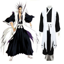 HOT COS Bleach Zaraki Kenpachi Death Cosplay Costume Cartoon Character Clothing