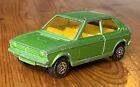 Vintage Corgi Juniors 1/64 Volkswagen Polo, Green. Unboxed, Rare, Playworn.