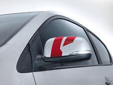 Kia (Genuine OE) Picanto 2011-2016 Door mirror decals Dark Red 1Y430ADE00DR