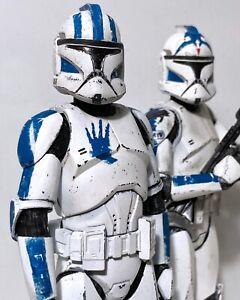 "Clone Trooper ""Echo"" Decal Sheet Star Wars Black Series Figure"