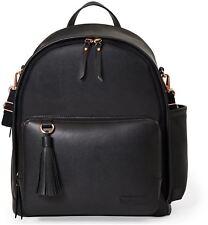 Skip Hop GREENWICH SIMPLY CHIC BACKPACK CHANGING BAG - BLACK Baby Bag BN