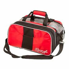 Radical 2 Ball Tournament Tote Bowling Bag with Shoe Pocket Red