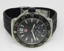 TAG HEUER FORMULA ONE F1 GRAND DATE RUBBER STRAP SWISS WATCH WAU1110