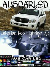 Toyota Landcruiser 200 Series 2012 + Bright White LED Interior Light Kit 10 pce