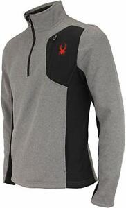 Spyder Raider Half Zip Sweater - Men's retails $99