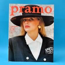 DDR Pramo 12/1989 Praktische Mode Schnittmuster G Kleider Blusen Röcke Puppen