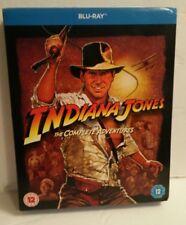 Indiana Jones Box Set The Complete Adventures  Blu-Ray Region Free