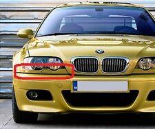 BMW NEW GENUINE 3 E46 COUPE CONVERTIBLE HEADLIGHT LOWER TRIM RIGHT O/S 8231050