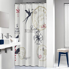 Fabric Nautical Shower Curtains