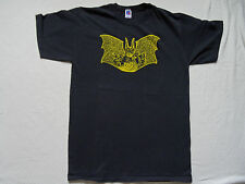 Vtg Batman T Shirt L Russell Made in USA Tee Dark Knight Comic Con Keaton Logo