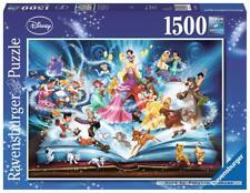 1500 pcs jigsaw puzzle: Disney - Magical Book of Disney (Ravensburger 163182)