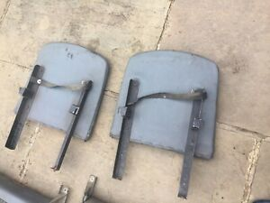 Land Rover Defender Series Rear Folding Seats Pair Back Rests Only