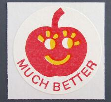 Vintage CTP 77 Scratch 'N Sniff reward label - CHERRY 1977 matte Sticker