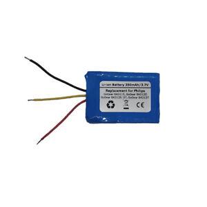 Battery for Philips GoGear SA3115,GoGear SA3125,GoGear SA3125/37,GoGear SA3137