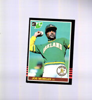 1985 Leaf/Donruss Oakland Athletics Baseball Card #28 Joe Morgan HOF for Reds