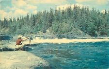 Nakina Ontario~Hudson's Bay Company~Fishing~1967 Postcard