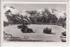 AK Fusch, Großglockner Hochalpenstrasse m. Fuscherkarkopf 1940 Foto-AK