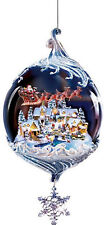 Christbaumkugel Weihnachtskugel THOMAS KINKADE Kugel Schmuckkugel Painter of the