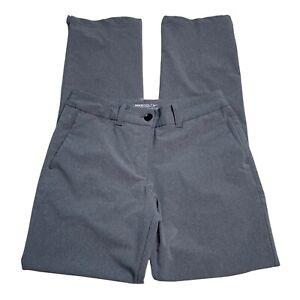Nike Womens Gray Active Golf Pants Slacks Size 4