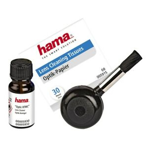 Hama Cleaning Set Look HTMC Lens Brush Bellows Camera DSLR Cleaner