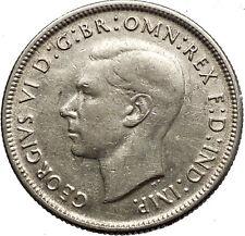 1944 AUSTRALIA under King George VI of United Kingdom Silver Florin Coin i53777