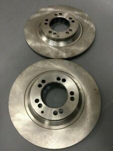 1966-1969 Mopar C-body new brake rotors for Budd 4 piston caliper / D-10 pads