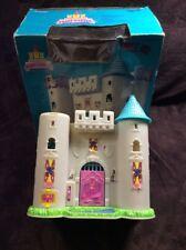 Blue Box Tiny Dreams Fairy Castle Polly Pocket Type Play Set With Box VINTAGE