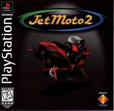 Jet Moto 2 - PS1 PS2 Playstation Game Complete
