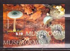 PAPUA & NEW GUINEA K10 Mushroom min sheet MUH