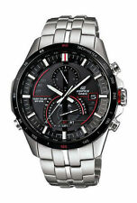 Casio Edifice Silver Case Casual Wristwatches