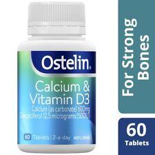 Ostelin Calcium & Vitamin D3 Tablets 60 pack