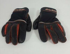 Genuine Harley-Davidson Womens Cora Leather & Mesh Gloves Medium (98295-14VW)