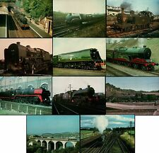 Collection of 11 NEW Locomotive Steam Train Railway Postcards (Job Lot LOCO 100)