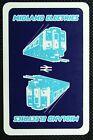 1 x Joker playing card single swap Locomotive Train Midland Electrics AD002
