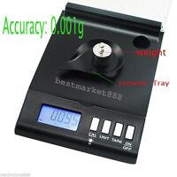 Digital Scale 0.001g x 30g Reloading Powder Grain Lab Jewelry Gem Precision 1mg