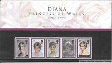 GB 1998  Diana, Princess of Wales Commemoration. Presentation Pack [2]