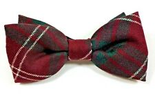 BOW TIE TARTAN CRAWFORD MODERN WORSTED WOOL KILT MADE IN SCOTLAND GENTS FORMAL
