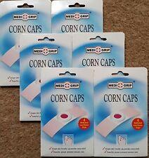 6x medi Grip CORN CAPS 4'S. clinicamente dimostrato CORN rimozione Autoadesivo GESSI
