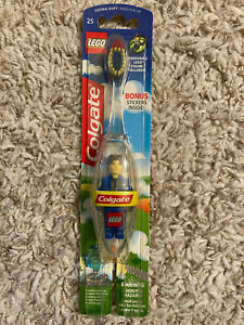 Colgate LEGO Jack Stone Toothbrush (Rare 2002) New Unopened