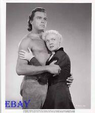 Scott Brady barechested VINTAGE Photo Audrey Totter Vanishing American